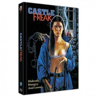 Castle Freak (Limited Mediabook, Blu-ray+CD, Cover B) (1995) [FSK 18] [Blu-ray]