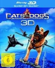 Cats & Dogs: Die Rache der Kitty Kahlohr (3D + 2D Version) (2010) [3D Blu-ray]
