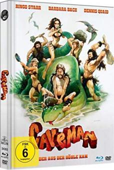 Caveman - Der aus der Höhle kam (Limited Mediabook, Blu-ray+DVD) (1981) [Blu-ray]