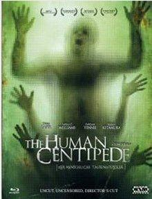 Human Centipede - Der menschliche Tausendfüßler (Uncut) (2009) [FSK 18] [Blu-ray]
