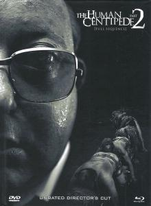 The Human Centipede 2 (Limited Collectors Mediabook, Blu-ray+DVD) (Cover B) (2011) [FSK 18] [Blu-ray]