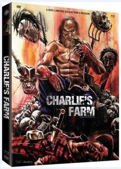 Charlie's Farm (Limited Mediabook, Blu-ray+DVD, Cover A) (2014) [FSK 18] [Blu-ray]