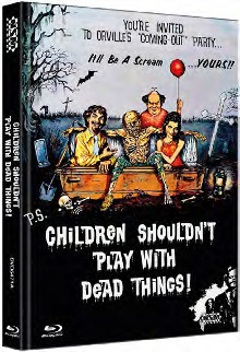 Children Shouldn't Play with Dead Things (Limited Mediabook, Blu-ray+DVD, Cover A) (1972) [FSK 18] [Blu-ray]