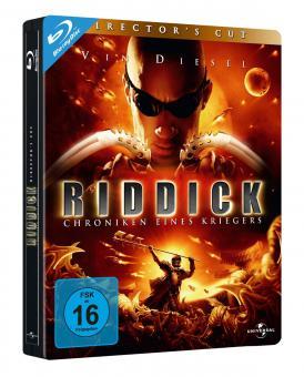 Riddick - Chroniken eines Kriegers (Steelbook) (2004) [Blu-ray]