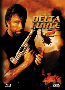 Delta Force 2 (Limited Mediabook, Blu-ray+DVD, Cover B) (1990) [FSK 18] [Blu-ray]