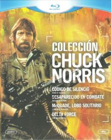 Chuck Norris Collection (4 Discs) [EU-Import mit dt. Ton] [FSK 18] [Blu-ray]