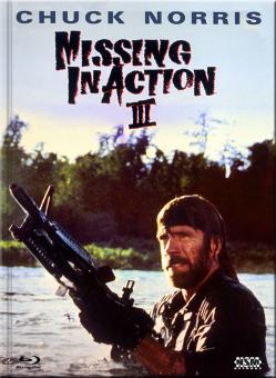 Missing in Action III - Braddock (Limited Mediabook, Blu-ray+DVD, Cover B) (1988) [FSK 18] [Blu-ray]