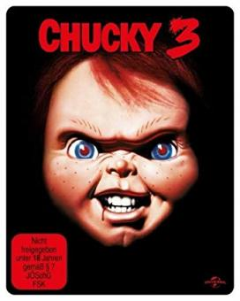 Chucky 3 (Steelbook, Uncut) (1991) [FSK 18] [Blu-ray]