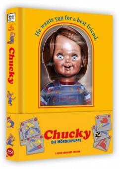 Chucky - Die Mörderpuppe (Limited Wattiertes Mediabook, Blu-ray+DVD) (1988) [Blu-ray]