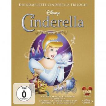 Cinderella 1-3 - Trilogie (3 Discs) [Blu-ray]