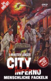 City Inferno - Menschliche Fackeln (2 DVDs, Limitiert auf 333 Stück, Cover C) (1979) [FSK 18]