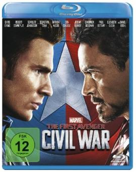 The First Avenger: Civil War (2016) [Blu-ray]