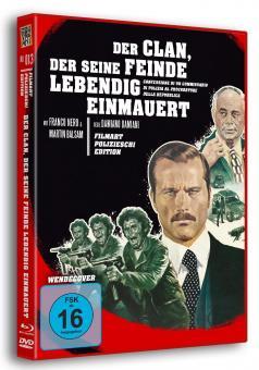 Der Clan, der seine Feinde lebendig einmauert (Limited Edition, Blu-ray+DVD) (1971) [Blu-ray]