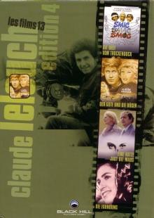 Claude Lelouch Edition 4 (4 DVDs) [Gebraucht - Zustand (Sehr Gut)]