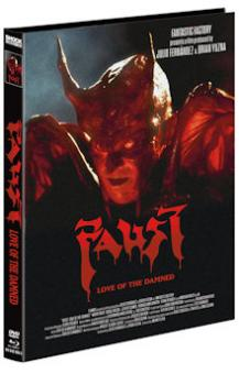 Faust: Love of the Damned (Limited Mediabook, Blu-ray+DVD, Cover C) (2000) [FSK 18] [Blu-ray]