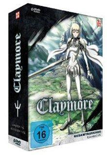 Claymore - Gesamtausgabe, Episoden 1-26 (6 DVDs)
