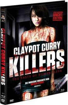Claypot Curry Killers (Limited Uncut Mediabook, Blu-ray+DVD, Cover A) (2011) [FSK 18] [Blu-ray]