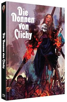 Die Nonnen von Clichy (Limited Mediabook, 2 Blu-ray's, Cover B) (1972) [FSK 18] [Blu-ray]