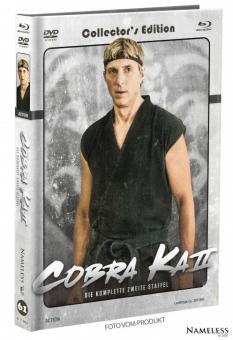 Cobra Kai (Limited Mediabook, Staffel 2, 2 Blu-ray's+2 DVDs, Cover B) (2018) [Blu-ray]
