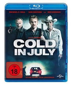Cold in July (2014) [FSK 18] [Blu-ray]