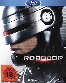 Robocop 1-3 (Trilogie, Uncut) [FSK 18] [Blu-ray]
