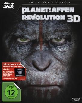 Planet der Affen - Revolution (Collector's Edition, 3D Blu-ray+Blu-ray) (2014) [3D Blu-ray]