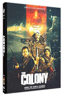 The Colony - Hell Freezes Over (Limited Mediabook, Blu-ray+DVD, Cover B) (2013) [FSK 18] [Blu-ray]