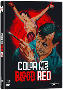 Color Me Blood Red (Limited Mediabook, Blu-ray+DVD) (1965) [FSK 18] [Blu-ray]