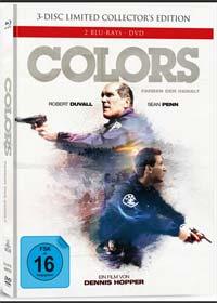 Colors - Farben der Gewalt (3 Disc Limited Mediabook, 2 Blu-ray's+DVD, Cover A) (1988) [Blu-ray]