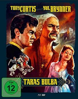 Taras Bulba (Limited Mediabook, Blu-ray+DVD, Cover B) (1962) [Blu-ray]