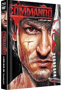 Commando (Limited Mediabook, Blu-ray+DVD, Cover C) (2013) [FSK 18] [Blu-ray]