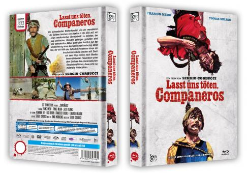 Lasst uns töten, Companeros (4 Disc Limited Mediabook, Blu-ray+DVD+Soundtrack-CD, Cover B) (1970) [Blu-ray]