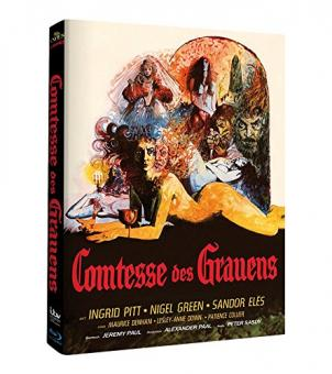 Comtesse des Grauens (Limited Mediabook) (1971) [Blu-ray]