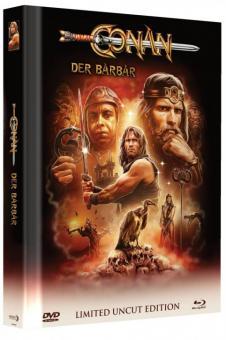 Conan der Barbar (Limited Mediabook, Blu-ray+DVD, Cover A) (1982) [Blu-ray]