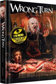Wrong Turn 1-6 (Complete Collection, Limited Wattiertes Mediabook, Cover B) [FSK 18] [Blu-ray]