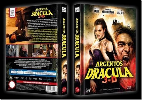 Dario Argentos Dracula (Limited Mediabook, Blu-ray+DVD, Cover B) (2012) [FSK 18] [Blu-ray]
