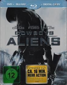 Cowboys & Aliens (inkl. Digital Copy), Extended Cut (Limited Steelbook) (2011) [Blu-ray]