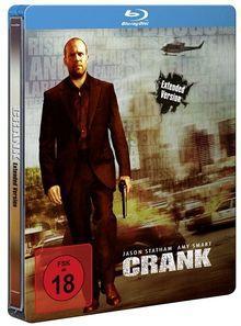 Crank (Extended Version, Steelbook) (2006) [FSK 18] [Blu-ray]
