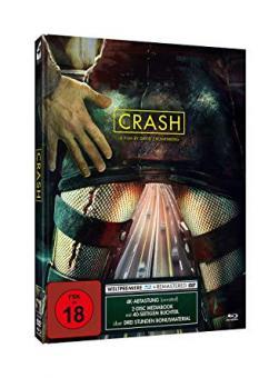 Crash (Limited Mediabook, Blu-ray+DVD, Cover Modern) (1996) [FSK 18] [Blu-ray]