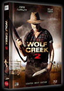 Wolf Creek 2 (3 Disc Limited Uncut Mediabook, Blu-ray + 2 DVDs) (2013) [FSK 18] [Blu-ray]