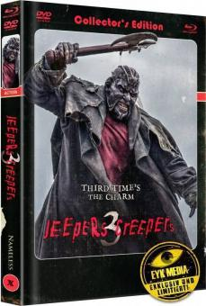 Jeepers Creepers 3 (Limited Mediabook, Blu-ray+DVD, Cover A) (2017) [Blu-ray]