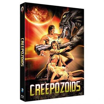 Creepozoids - Angriff der Mutanten (Limited Mediabook, Blu-ray+DVD, Cover A) (1987) [FSK 18] [Blu-ray]
