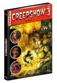 Creepshow 3 (Limited Mediabook, Blu-ray+DVD, Cover A) (2006) [FSK 18] [Blu-ray]