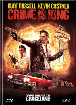 Crime Is King - 3000 Meilen bis Graceland (Limited Mediabook, Blu-ray+DVD, Cover C) (2001) [Blu-ray]
