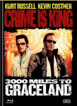 Crime Is King - 3000 Meilen bis Graceland (Limited Mediabook, Blu-ray+DVD, Cover A) (2001) [Blu-ray]