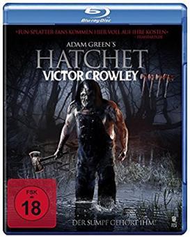 Hatchet - Victor Crowley (Uncut) (2017) [FSK 18] [Blu-ray]