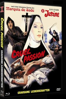 Justine - Grausame Leidenschaften (Cruel Passion) (Limited Mediabook, Blu-ray+DVD, Cover A) (1977) [FSK 18] [Blu-ray]