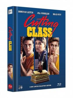 Die Todesparty 2 (Cutting Class) (Limited Mediabook, Blu-ray+DVD, Cover C) (1989) [FSK 18] [Blu-ray]