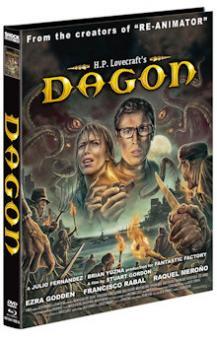 Dagon (Limited Mediabook, Blu-ray+DVD, Cover A) (2001) [FSK 18] [Blu-ray]