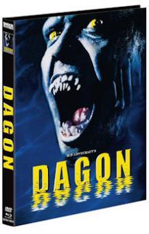 Dagon (Limited Mediabook, Blu-ray+DVD, Cover D) (2001) [FSK 18] [Blu-ray]